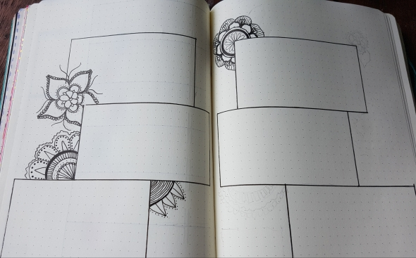 bullet journal drawing