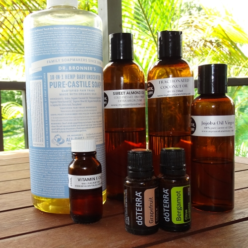 doterra essential oil diy make your own body wash