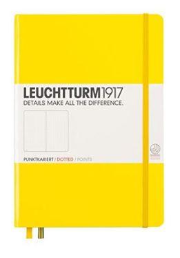 leuchtturm1917 yellow lemon dot grid