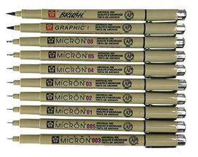 micron fineliners