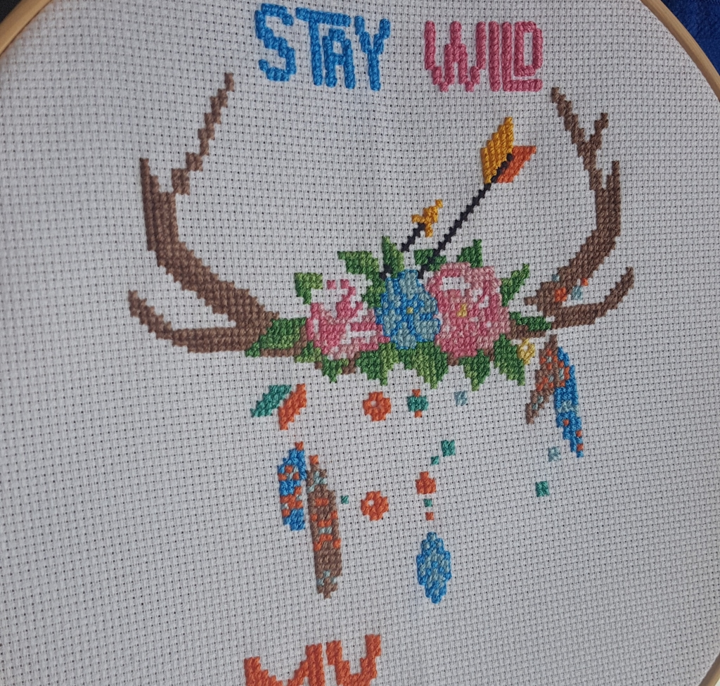 Cross stitch for Luna
