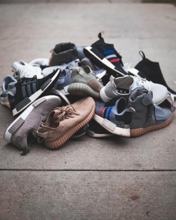 shoes you no longer wear can be donated to charity