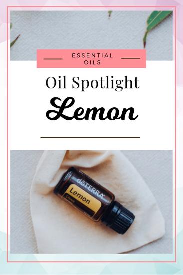 Oil Spotlight Doterra Lemon