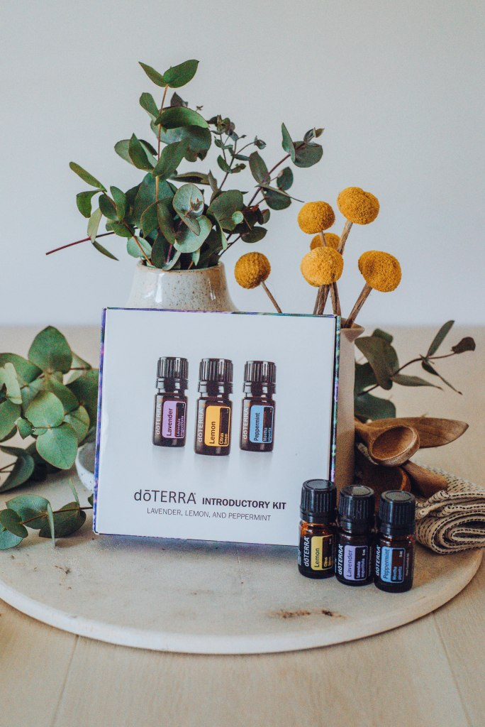 Doterra Essential Oil Introductory Kit - Lemon, Lavender, Peppermint